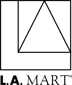 LA Mart logo - black outline 2